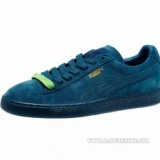 レディース (プーマ) 360231-01 PUMA The Suede Classic+ Mono Iced Mens Blue Coral/Team Gold...