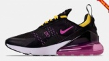 AIR MAX 270 BLK/PINK/YELLOW AH8050-006 2018新作ナイキ エア マックス 270 ブラック/ピンク/...