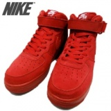 NIKE AIR FORCE 1 07 MID ナイキ エア フォース 1 ミッド 07 ナイキ 315123-609 レッド GYM RED...